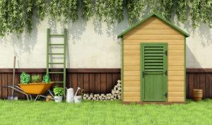 Een afbeelding van een tuinhuis